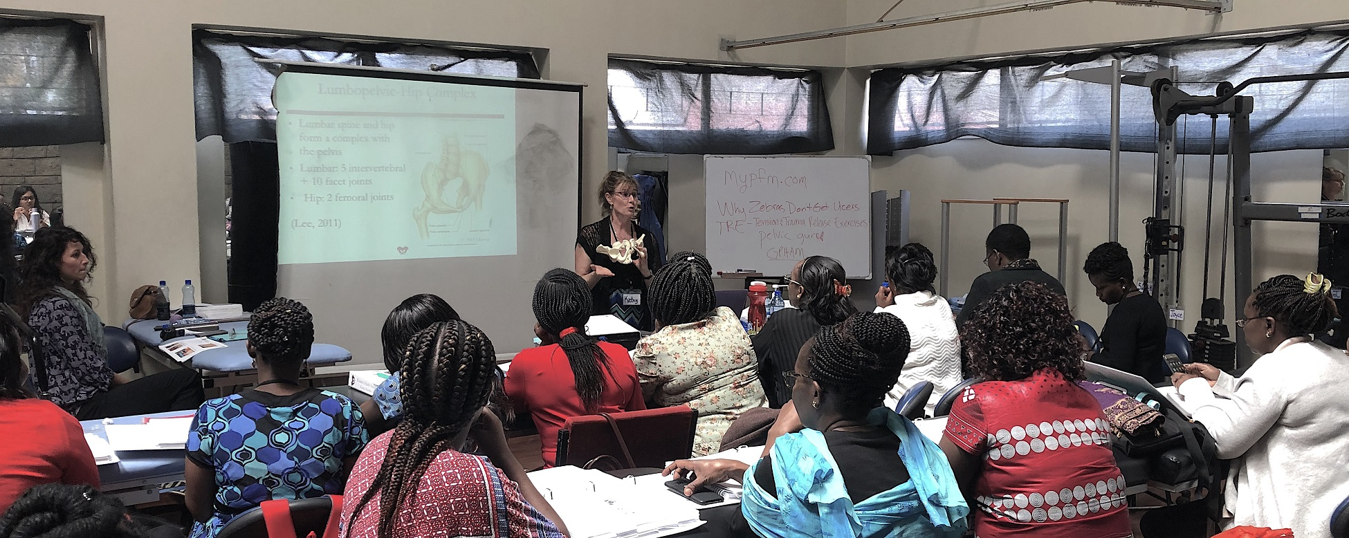 The Second Course Module in Nairobi, Kenya